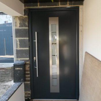 Black Hormann Front Door