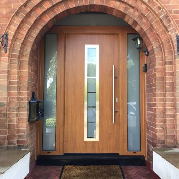 Wooden Hormann Front Door